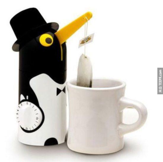 定時茶包聰明設計