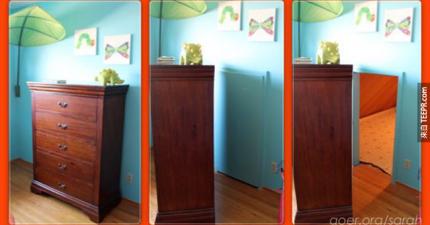 藏在這個櫃子後面的東西就是所有孩子的夢想,或是說大人可能會更愛!