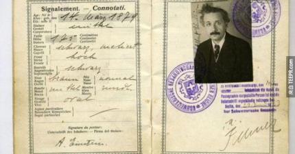 不知道他們是怎麼找到的,但是這27個歷史上名人的護照實在太酷了!