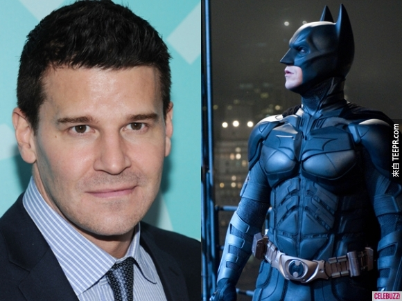 6. 大衛·伯瑞納(David Boreanaz)原本是蝙蝠俠的第一人選,但後來讓給了克里斯汀·貝爾(Christian Bale)(但現在一提到蝙蝠俠,我只會想到克里斯汀·貝爾了!)