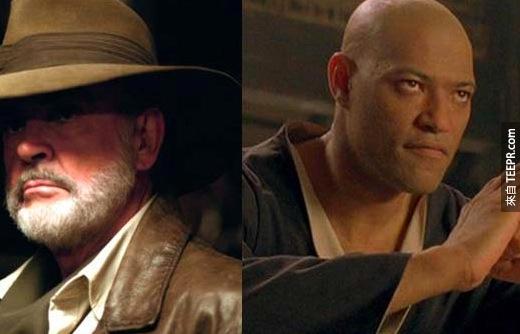 14. 想像史恩·康納萊(Sean Connery)當駭客任務(Matrix)的莫非斯(Morpheus)!