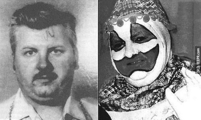 "30.) ""Killer Clown"" - John Wayne Gacy"