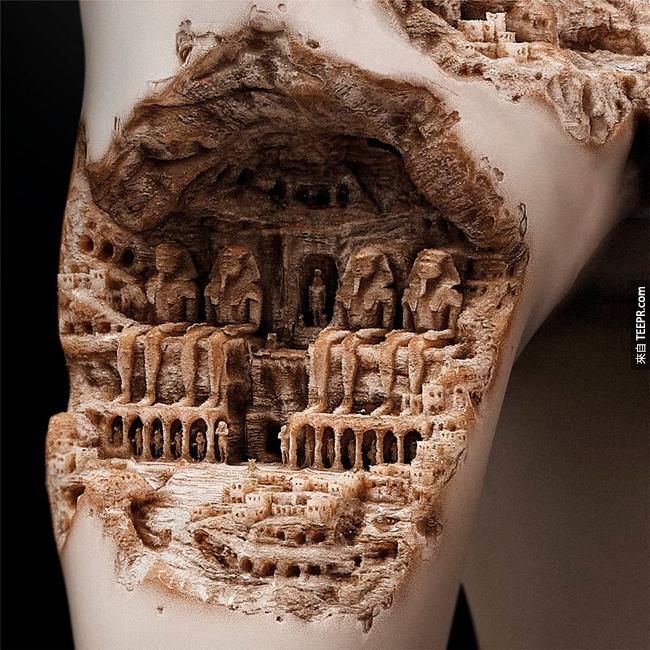 天啊!牙齒雕刻