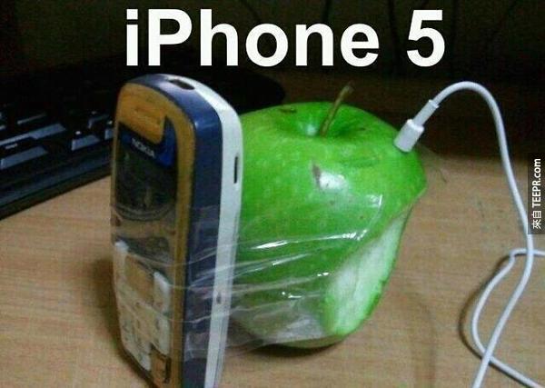 1. iPhone還有個耳機孔呢!功能真齊全。