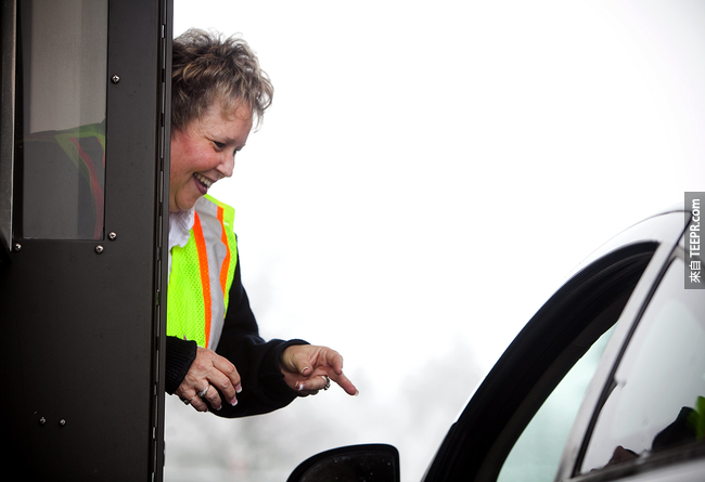 3.) Toll Booth Workers