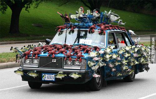 5.) 這輛車魚腥味有點重!