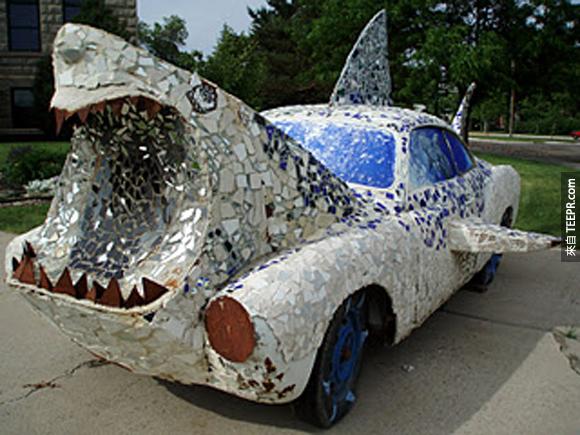 6.) 鯊魚俠迷的最愛...