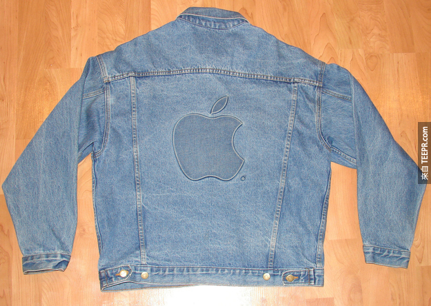 1. 蘋果牛仔外套