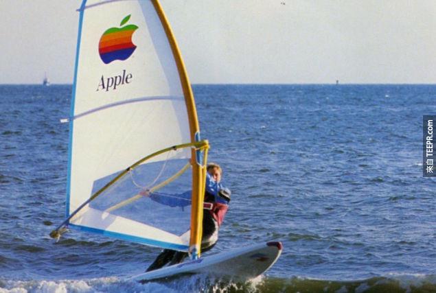 7. 蘋果衝浪板