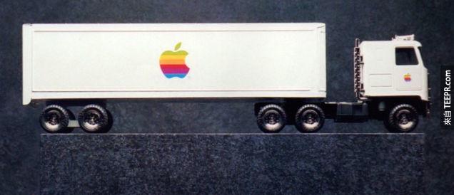 10. 蘋果玩具卡車