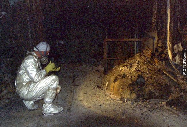 337.)大量融化的核能廢棄燃料,造成了車諾比很大的傷害。