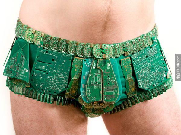 15件史上最時尚的內衣褲,一定突破你的想像!
