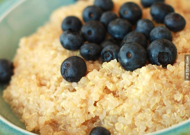 15. 藜麥:這可能台灣比較少,但藜麥的氨基酸對宿醉有紓緩的作用。