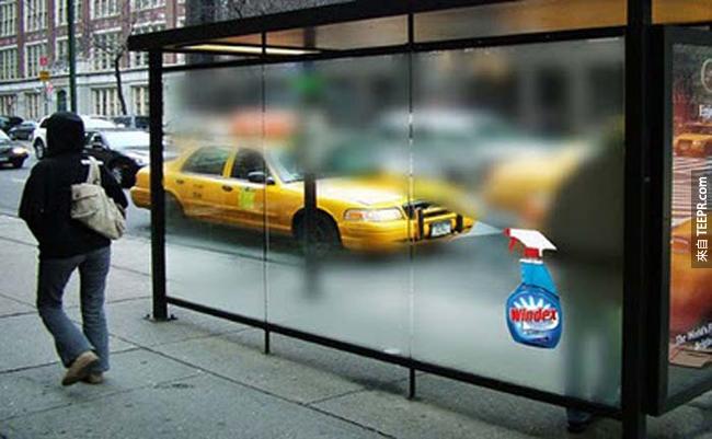 17.) 最強的窗戶清潔劑。
