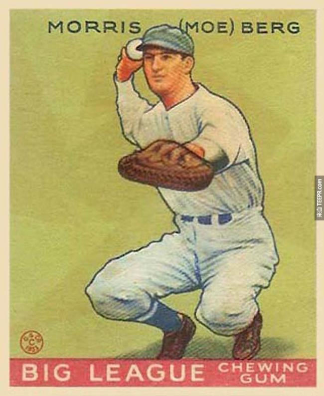 17.)棒球選手莫里斯莫(哞)伯格