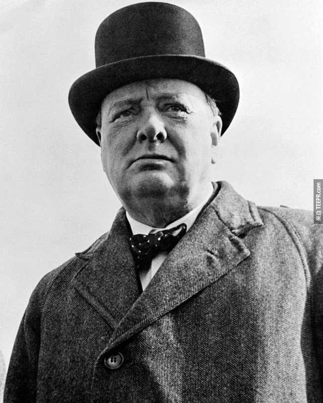 25.)邱吉爾(  Sir Winston Churchill )