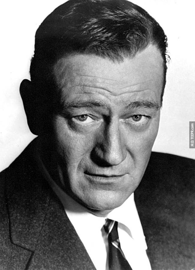 3.) 約翰·韋恩 ( John Wayne )