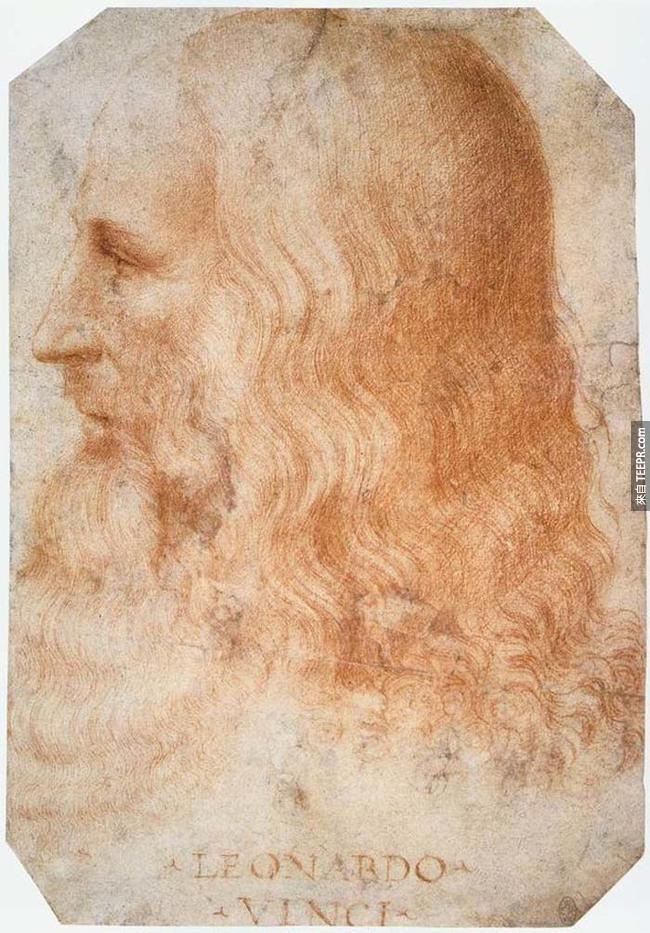 11.) 李奧納多·迪·瑟皮耶羅·達文西( Leonardo da Vinci )