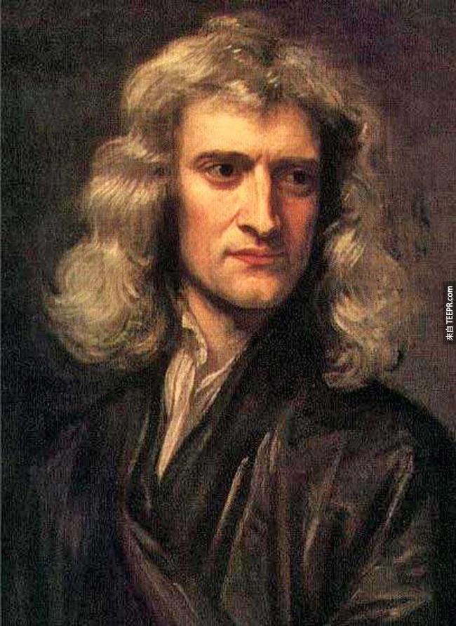 24.)牛頓( Sir Isaac Newton )