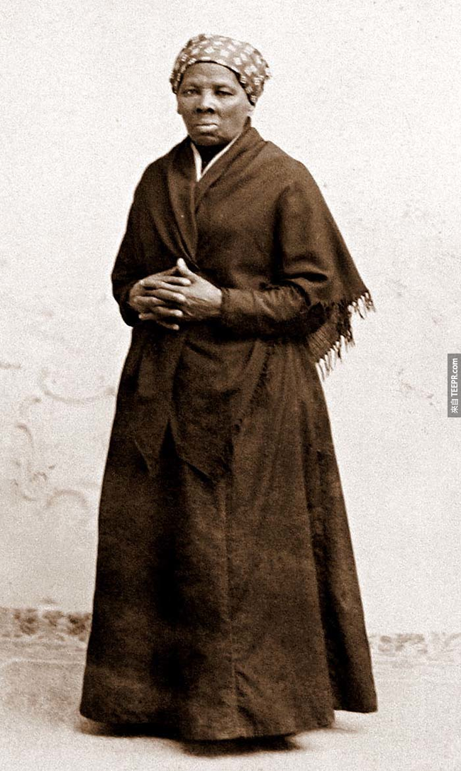 22.) 海麗特塔布曼( Harriet Tubman )