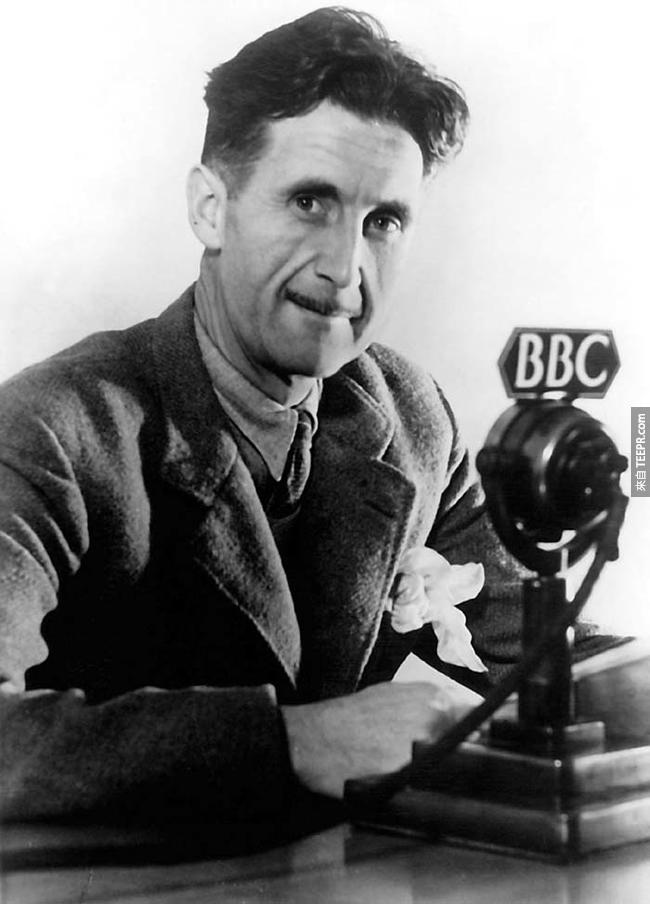 7.)喬治·歐威爾( George Orwell