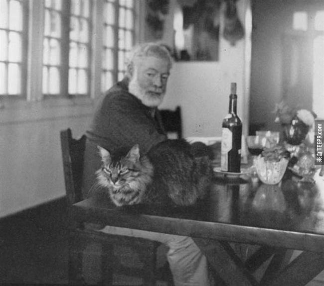 5.) 歐內斯特·米勒·海明威( Ernest Hemingway )