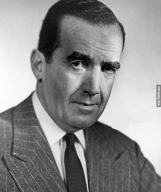 1.)愛德華·默羅( Edward R. Murrow)- 電視新聞主播