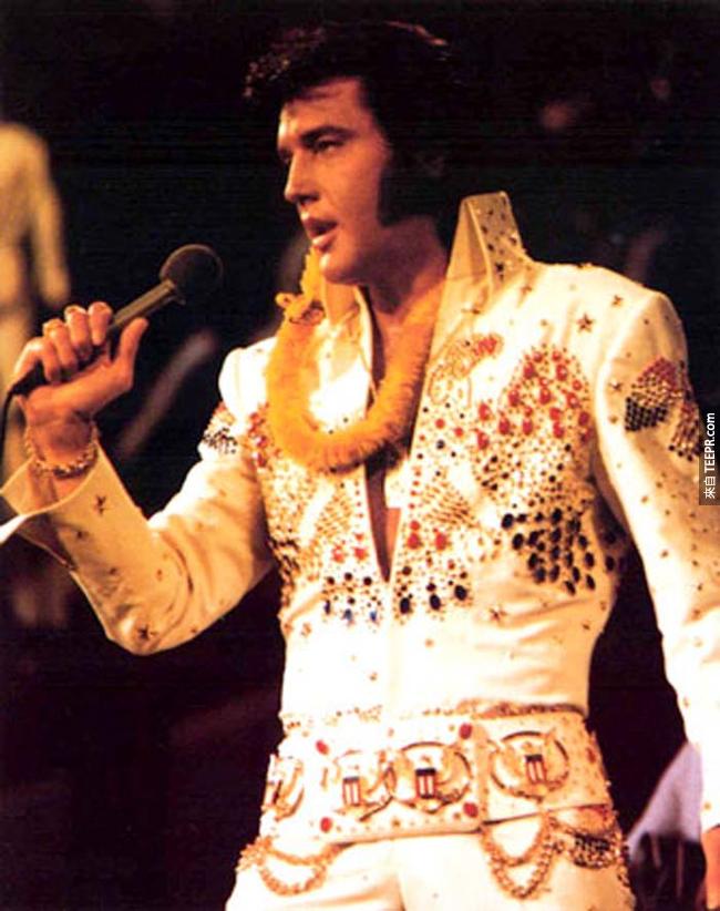 13.) 貓王( Elvis Presley )