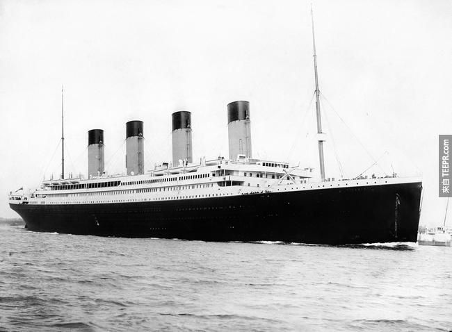 19. 巧克力的相關業務,讓好時(Hershey)巧克力公司的創辦人沒有搭上鐵達尼號(Titanic)。