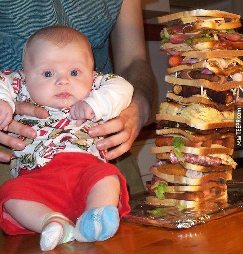 這13個瘋狂食物創作看起來真的很棒,但是我一個都不敢吃!