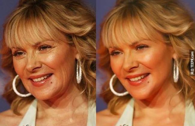 24個好萊塢巨星PS之前和之後的照片。