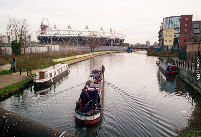 2012倫敦奧運留下來的建築。