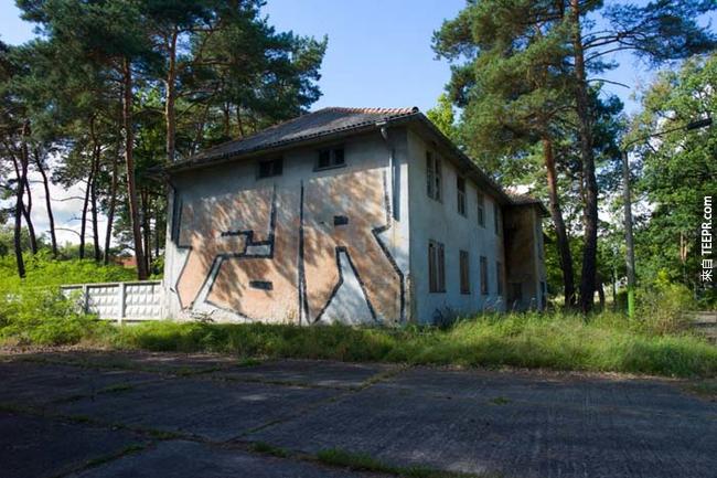 1936年德國柏林(Berlin, Germany)奧運的奧運村(Olympic village)遺跡。