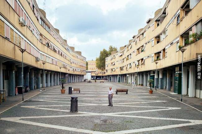 1960年羅馬(Rome)夏季奧運的選手村,也改造成公寓了。