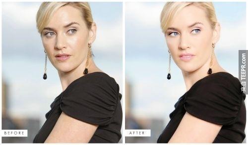 21.) 凱特溫絲蕾 (Kate Winslet)
