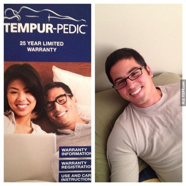 The Tempur-Pedic Guy