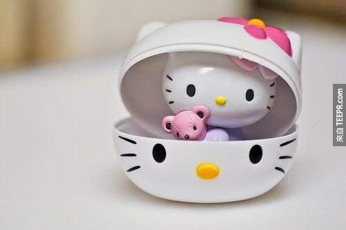 Hello Kitty他不是一隻貓,他是一個「人類女孩」!