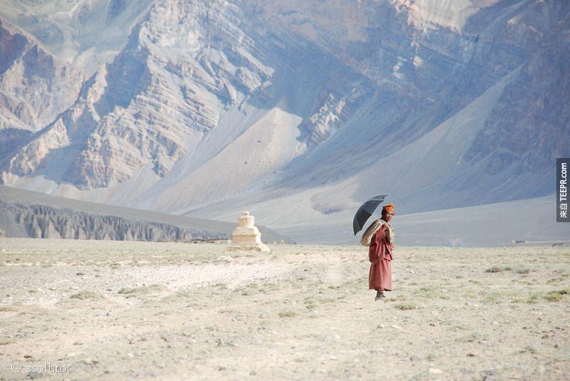 一個月的佛家修行:西藏喜瑪拉雅山(Tibetan Himalayas)