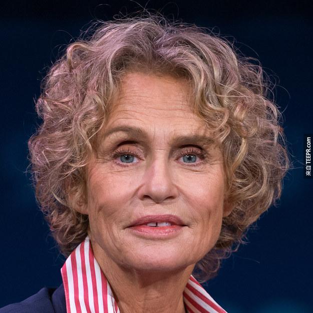 Lauren Hutton 1982 (71歲)