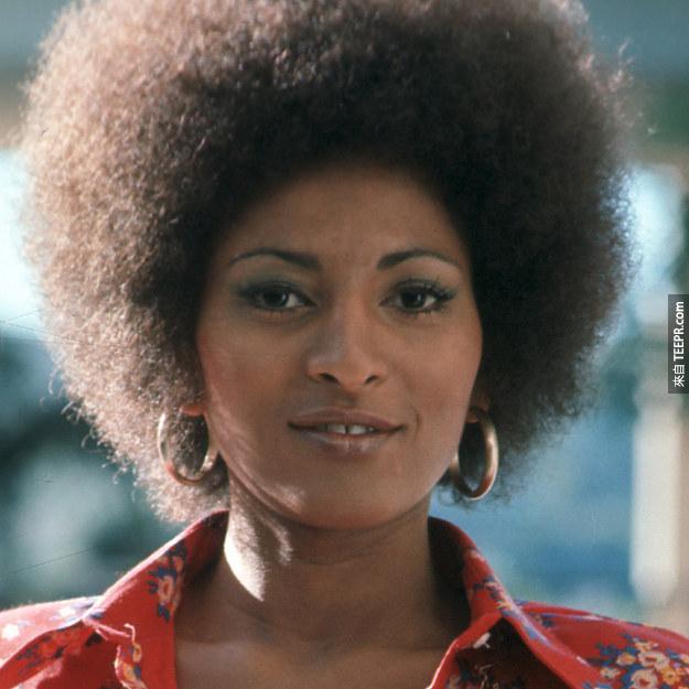 1. Pam Grier 1970 (21歲)