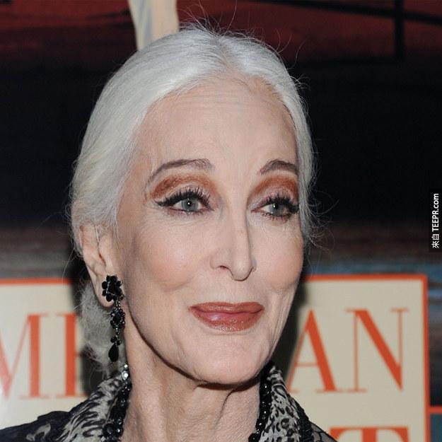 Carmen Dell'Orefice 2012 (81歲)
