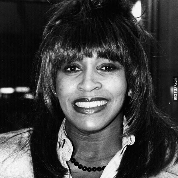 3. 蒂娜·特娜(Tina Turner) 1979 (40歲)