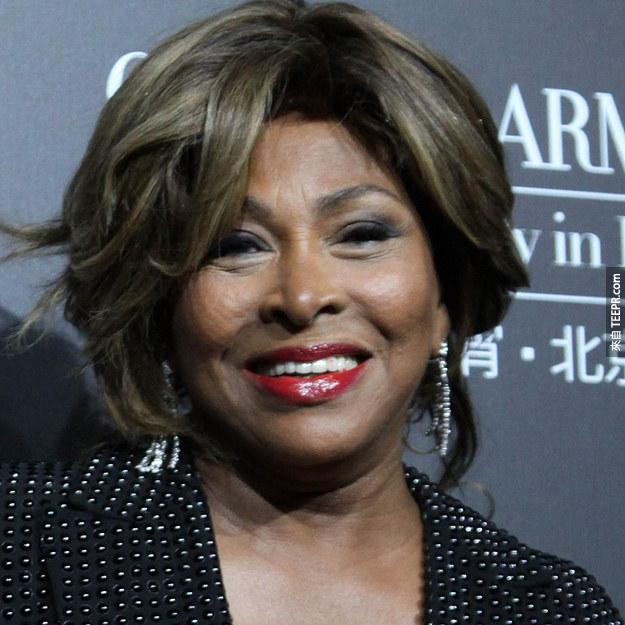 蒂娜·特娜(Tina Turner) 2012 (73歲)