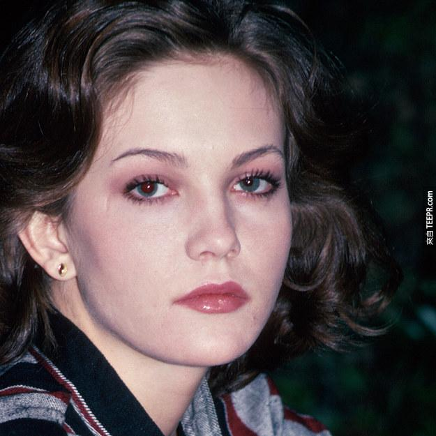 2. 黛安·蓮恩(Diane Lane) 1984 (19歲)