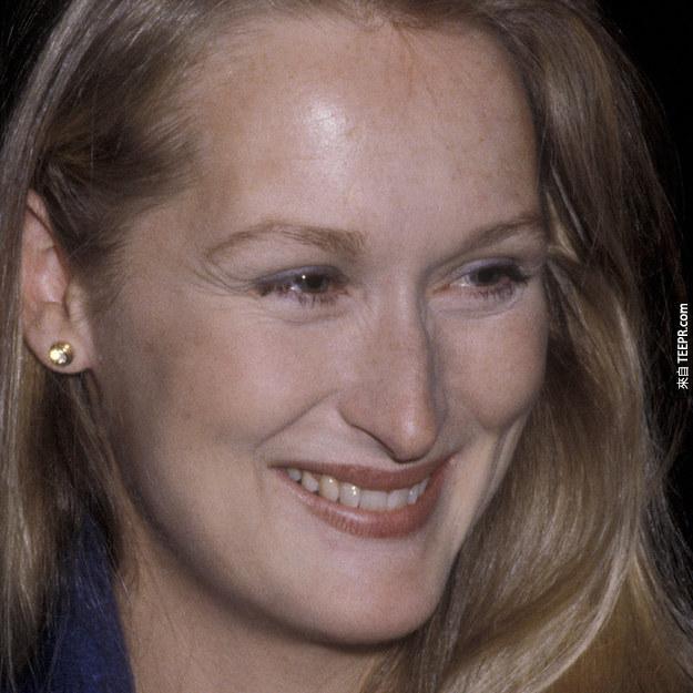 4. 梅麗·史翠普(Meryl Streep) 1979 (30歲)
