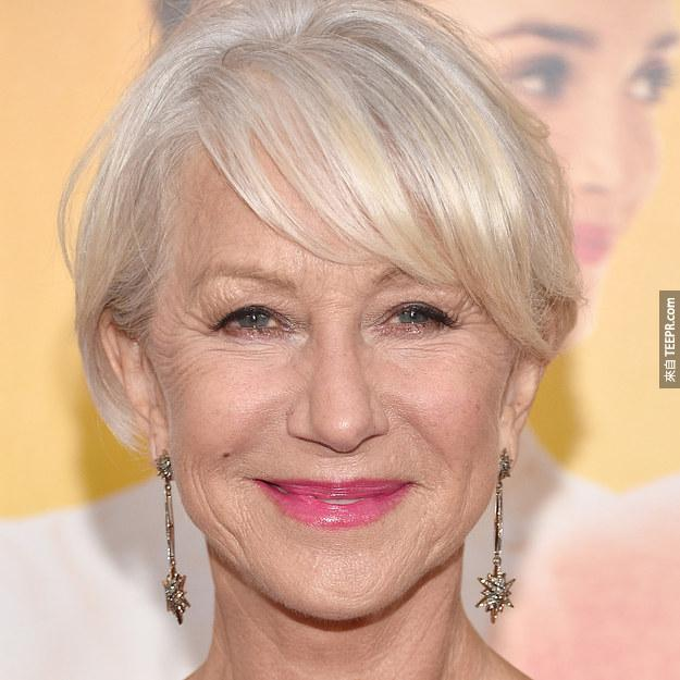 海倫·米蘭(Helen Mirren) 2014 (69歲)