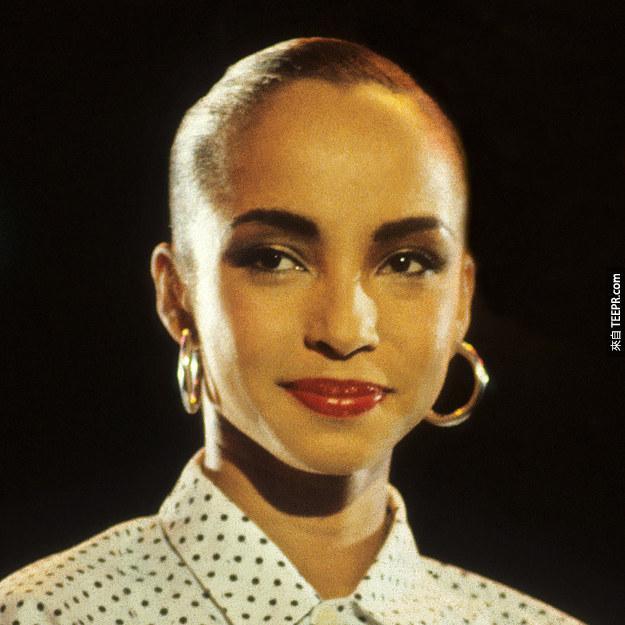 7. 莎黛(Sade) 1984 (25歲)