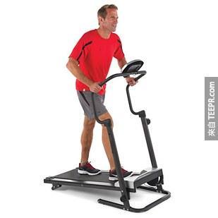 23. 可摺疊的跑步機(整個城市都是我的健身房!)