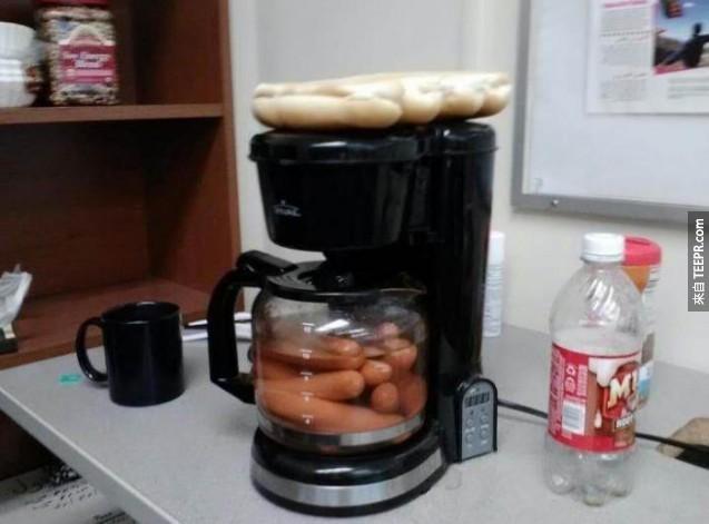 把咖啡機一秒變調理機