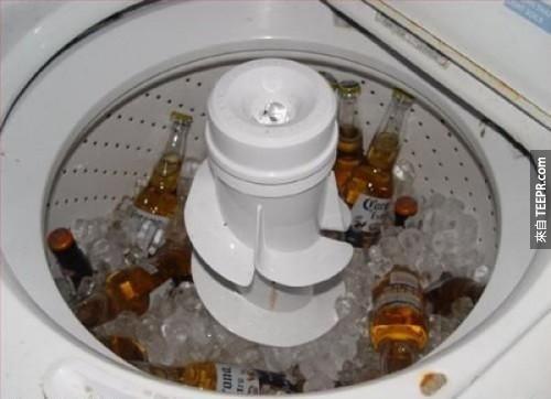 洗衣、喝酒,哪個重要?你知道的啦!